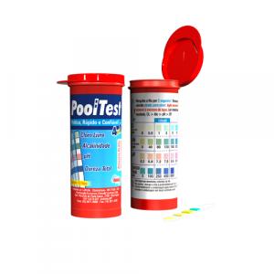 Fita Teste Cloro/PH 4 em 1 – Pooltest