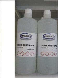 Água Destilada PA Frasco 1000 ml