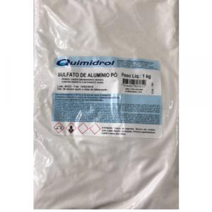 Sulfato de Alumínio Decantador 1 kg